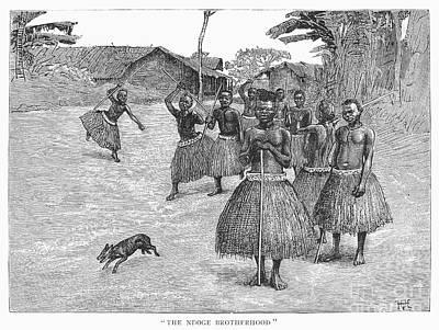 Africa: Ndoge Brotherhood Art Print by Granger