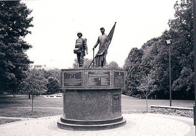 Photograph - African American Medal Of Honor Recipients' Monument by Emery Graham
