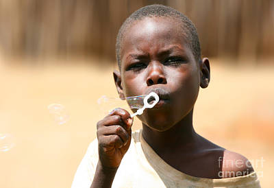Photograph - African Boy by Anna Om