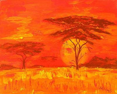 African Summer Original by Stollmayer Gallery