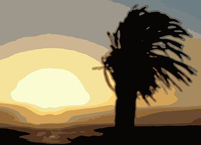 Photograph - African Sunset by Ramona Johnston