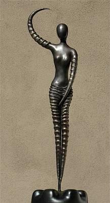 African Venus Art Print by Robert Hartl