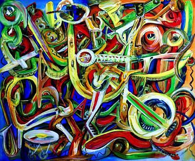 Afrobeat Art Print by Edward Ofosu