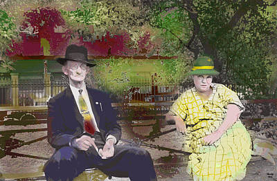 1-charles-shoup.fineartamerica.com Mixed Media - After Church by Charles Shoup