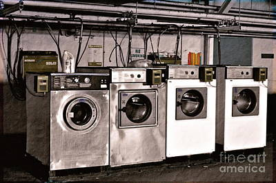 After Enlightenment The Laundry. Art Print by Gwyn Newcombe