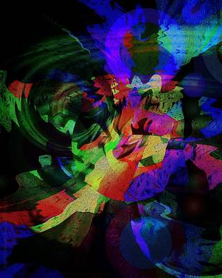 Subconscious Digital Art - After Sunset by Mimulux patricia no No