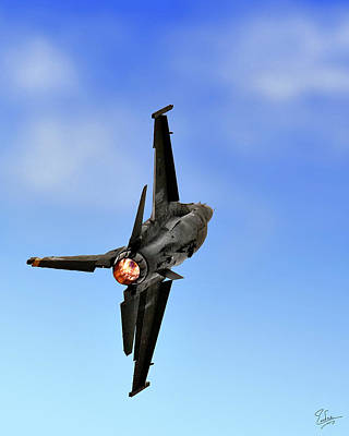 Photograph - Afterburner by Endre Balogh