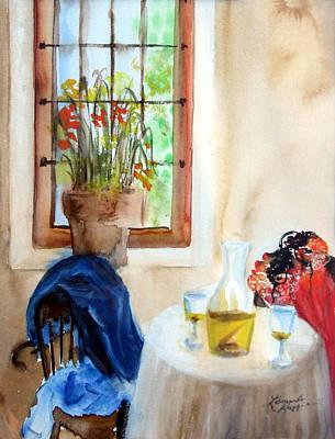 Afternoon Delight Art Print by Leonardo Ruggieri