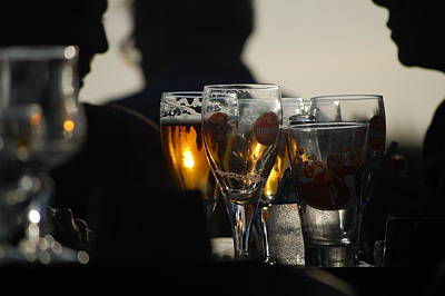 Afternoon Drinks Art Print by Dickon Thompson