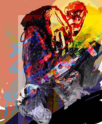 Alone Digital Art - Afternoon Getthrough by James Thomas