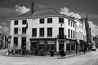 Afternoon In Brugge Art Print