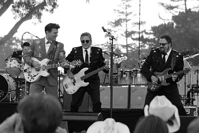 Photograph - Afternoon Rockabilly Bw by Dennis Jones
