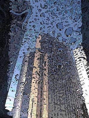 Shower Digital Art - Afternoon Showers by Tim Allen
