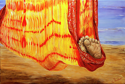 Painting - Afternoon Siesta by Elisabeth Dubois