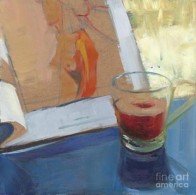 Afternoon Tea Time No.10 Art Print by Ni Zhu