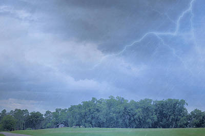 Photograph - Afternoon Thunder Storm by Jan Amiss Photography