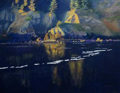 Painting - Agate Beach Evening by Boyd Miller