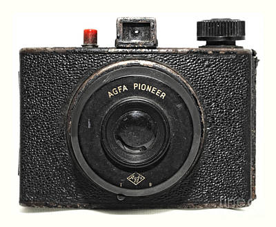 Photograph - Agfa Pioneer Vintage Camera by Kathleen K Parker
