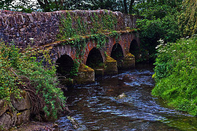 Photograph - Aghafantaun Bridge by Edward Peterson