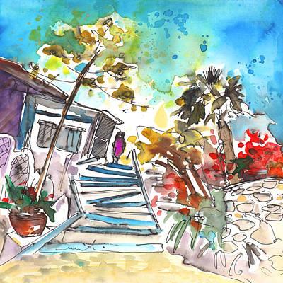 Impressionism Drawings - Agia Galini 03 by Miki De Goodaboom