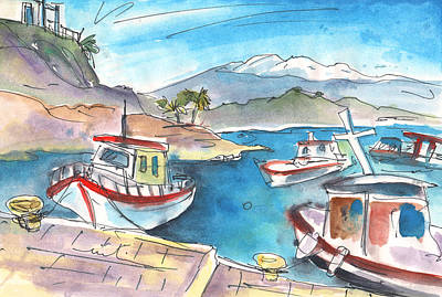 Painting - Agia Galini 05 by Miki De Goodaboom