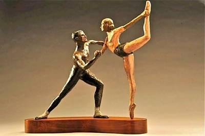Bronze Sculpture - Agon by Lois Black