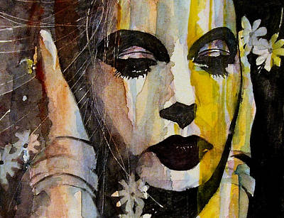 Lady Painting - Agony And Ecstasy by Paul Lovering