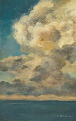 Ahead Of The Storm Art Print by John Brown