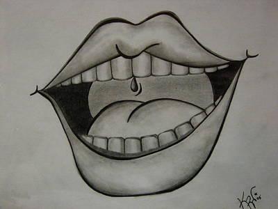Ahhh... Art Print by K Walker
