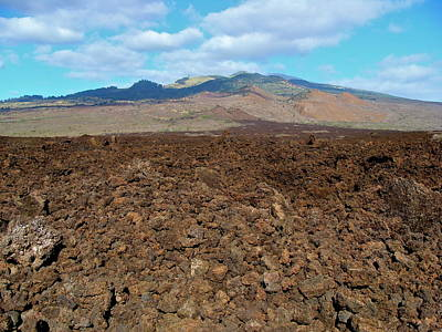 Photograph - Ahihi-kinau Natural Area Reserve - Lava Flow - Maui by Karon Melillo DeVega