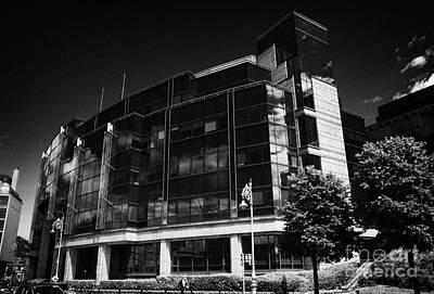 Aib Allied Irish Bank International Centre Headquarters Of Aib Capital Markets In The Ifsc Dublin Print by Joe Fox