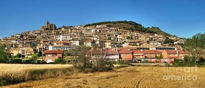 Photograph - Aibar Panorama by Alfredo Rodriguez