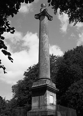 Photograph - Ailesbury Column by Michael Standen Smith
