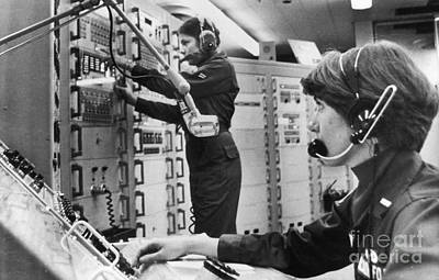 Photograph - Air Force Crew, 1978 by Granger