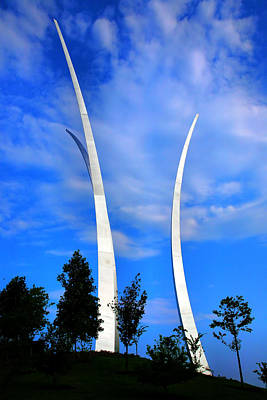 Air Force Memorial IIi Print by Steven Ainsworth