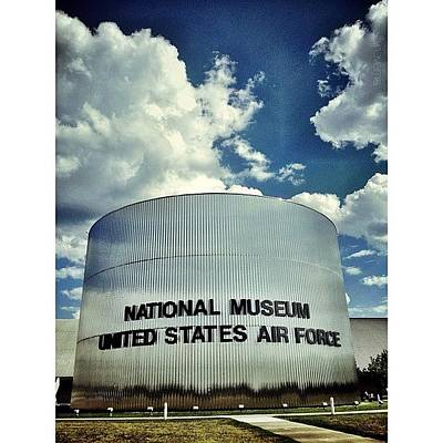 Airplane Photograph - Air Force Museum by Natasha Marco