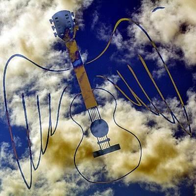 Guitar Photograph - Air Guitar by Daryl Macintyre