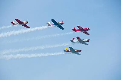 Photograph - Air Show by Jeffrey Swank