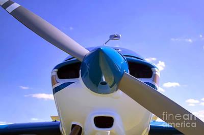 Aircraft Nose Cone. Art Print