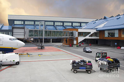 Airport Gate Arrival Art Print by Jaak Nilson