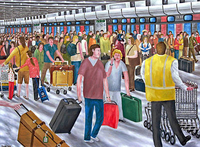 Air Travel  - Airport by Ronald Haber