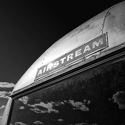 Caravan Photograph - Airstream by Dave Bowman