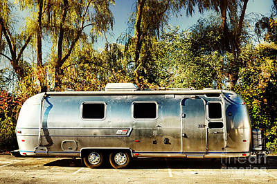 Airstream Trailer Photograph - Airstream by HD Connelly
