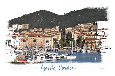 Photograph - Ajaccio Corsica by Allan Rothman