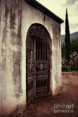 Ajijic Cemetary Crypt Print by Susan Isakson