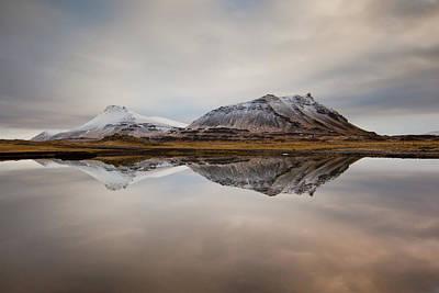 Akrafjall, Icelandic Mountain Art Print by Johann S. Karlsson