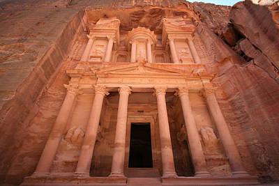 Al Khazneh (the Treasury), Petra, Jordan Art Print by Joe & Clair Carnegie / Libyan Soup