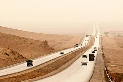 Al Mafraq Desert, Jordan Art Print by Jim Foley
