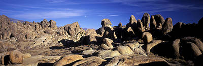 Winter Animals Royalty Free Images - Alabama Hills and Moon Royalty-Free Image by Joe  Palermo