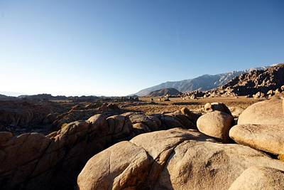 Photograph - Alabama Hills At Dawn by Michael Courtney